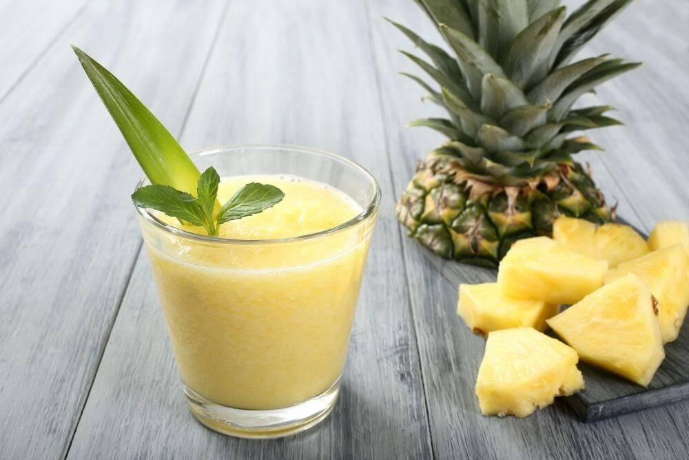Cucumber Pineapple Weight Loss Smoothie