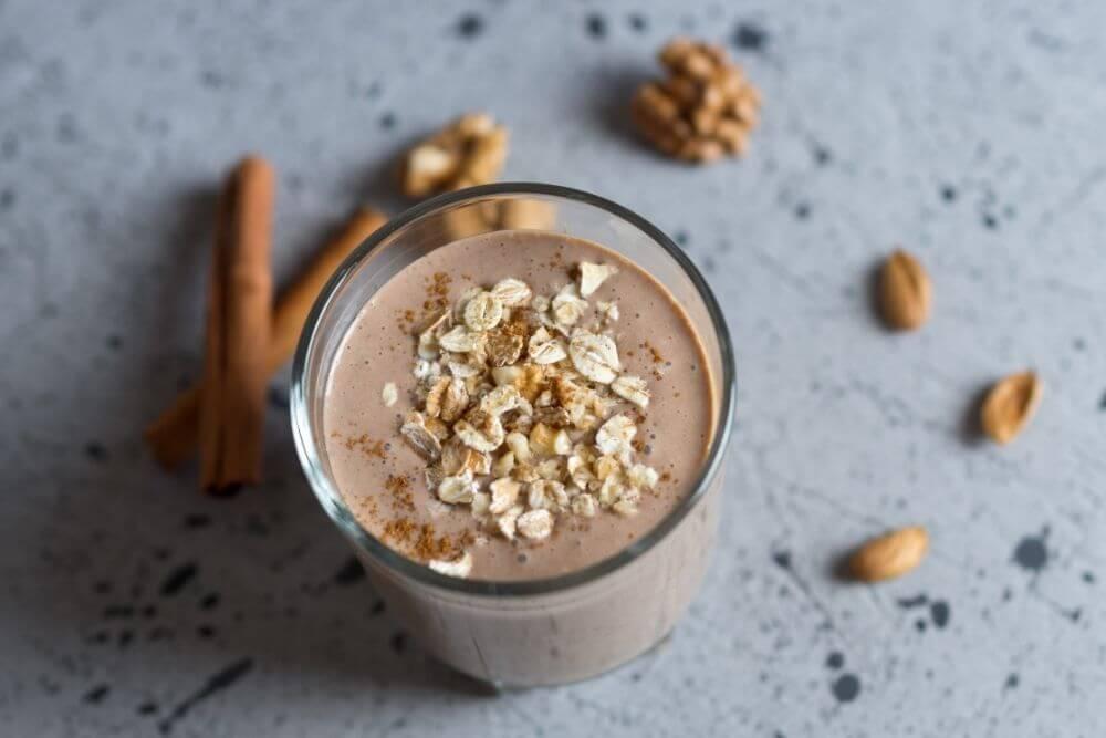 Chocolate Chia Seed Smoothie