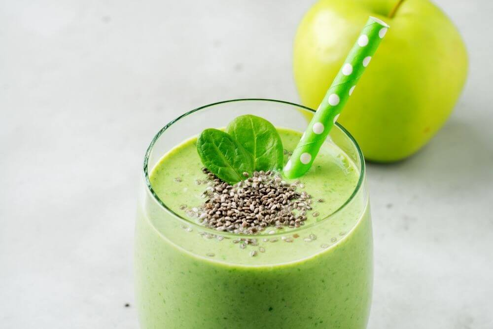 Apple Juice Smoothie without Banana