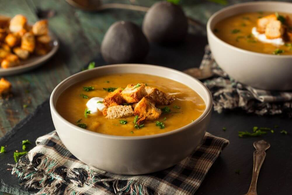 Soup Cooked with Blender