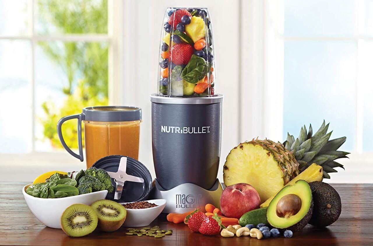 Nutribullet Blender on Table