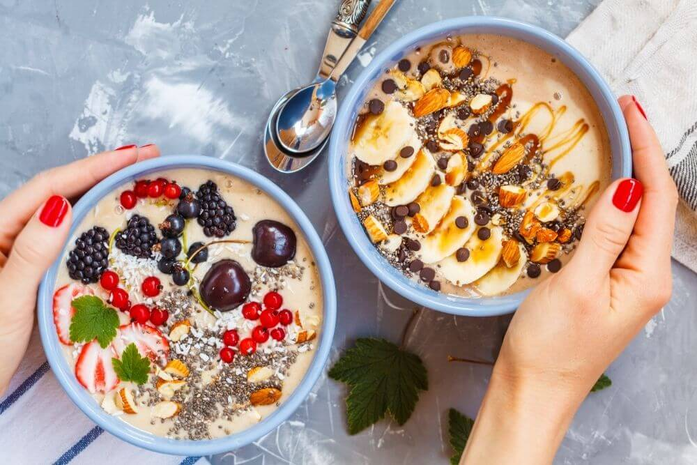 Smoothie Bowls Made with Ninja Blender